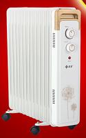Радиатор масляный NST-BF13 2 кВт Nikai (для помещений до 20 м²)