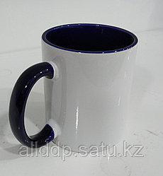 Кружка под сублимацию, бело-фиолетовый