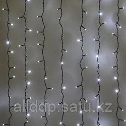 """Светодиодная гирлянда """"Дождь"""" - 6Х2 метра, 640 лампочек, холодный свет, светит постоянно"""