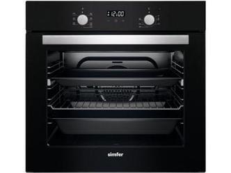 Встраиваемая духовка Simfer B6EP208GGB Черный