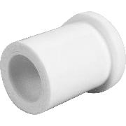 Бурт трубный под американку Дн 40 PPR Белый наружная пайка
