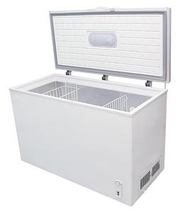 Холодильник-Морозильник ORION BD-355S две корзины серый (сундук)