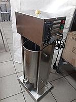 Шприц для фарша колбасный 15л электрический с педалью., фото 1