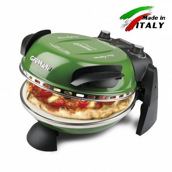 Пиццамейкер - мини печь для выпечки пиццы  G3 ferrari Delizia G10006 зеленая