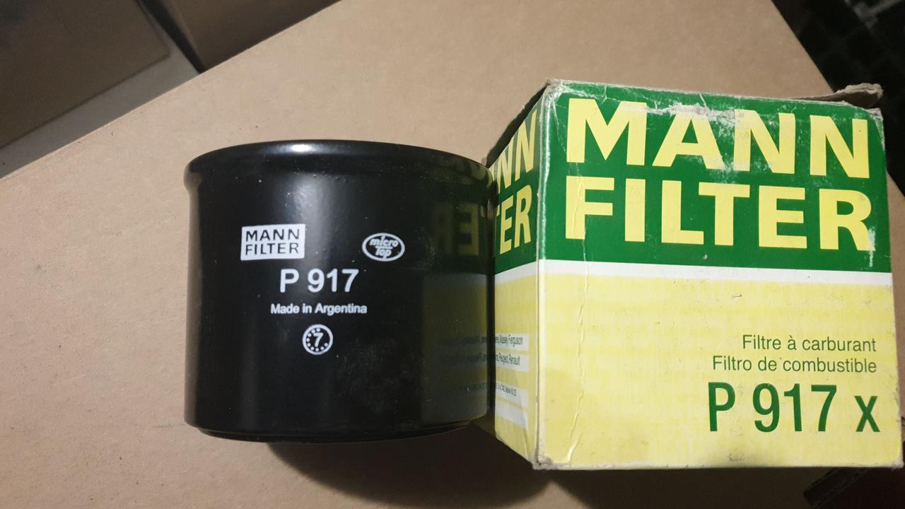 D88/H71 MANN P917x Топливный фильтр