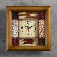 Часы настенные, серия Кухня 'Ароматные специи', 29х29 см