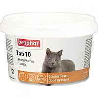 Beaphar *ТОР 10* Cat, Беафар Топ 10, витамины для кошек, уп. 180табл.
