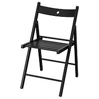 Стул складной ТЕРЬЕ черный ИКЕА, IKEA, фото 1