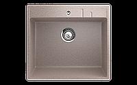 Мойка кухонная односекционная ECO Stone 550 х 490 мм квадратная с отверстие под смеситель
