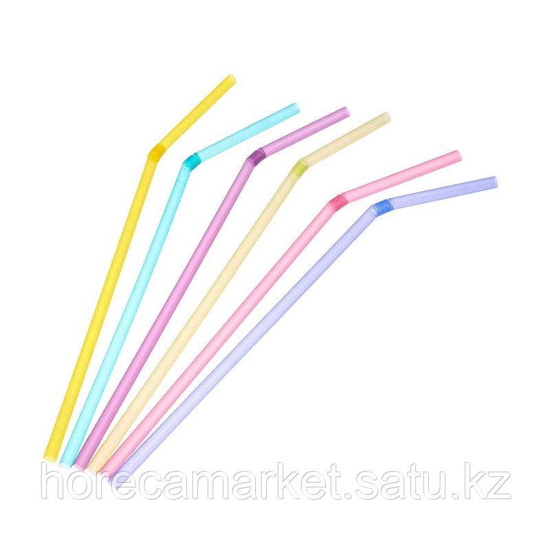 Трубочки для коктейля 5 мм (200шт)