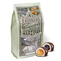 """Марципан в шоколаде с начинками апельсин-чернослив (ассорти) """"Grondard"""""""