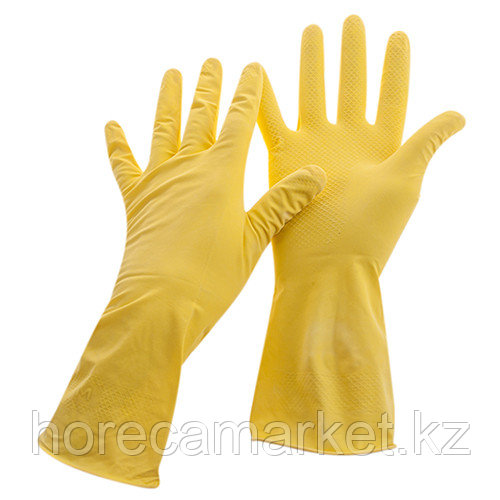 Перчатки для мытья посуды размер L