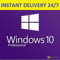Microsoft Windows 10 Pro 32/64 bit Установка ключ код