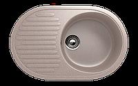 Мойка кухонная односекционная реверсивная ECO Stone 720 x 455