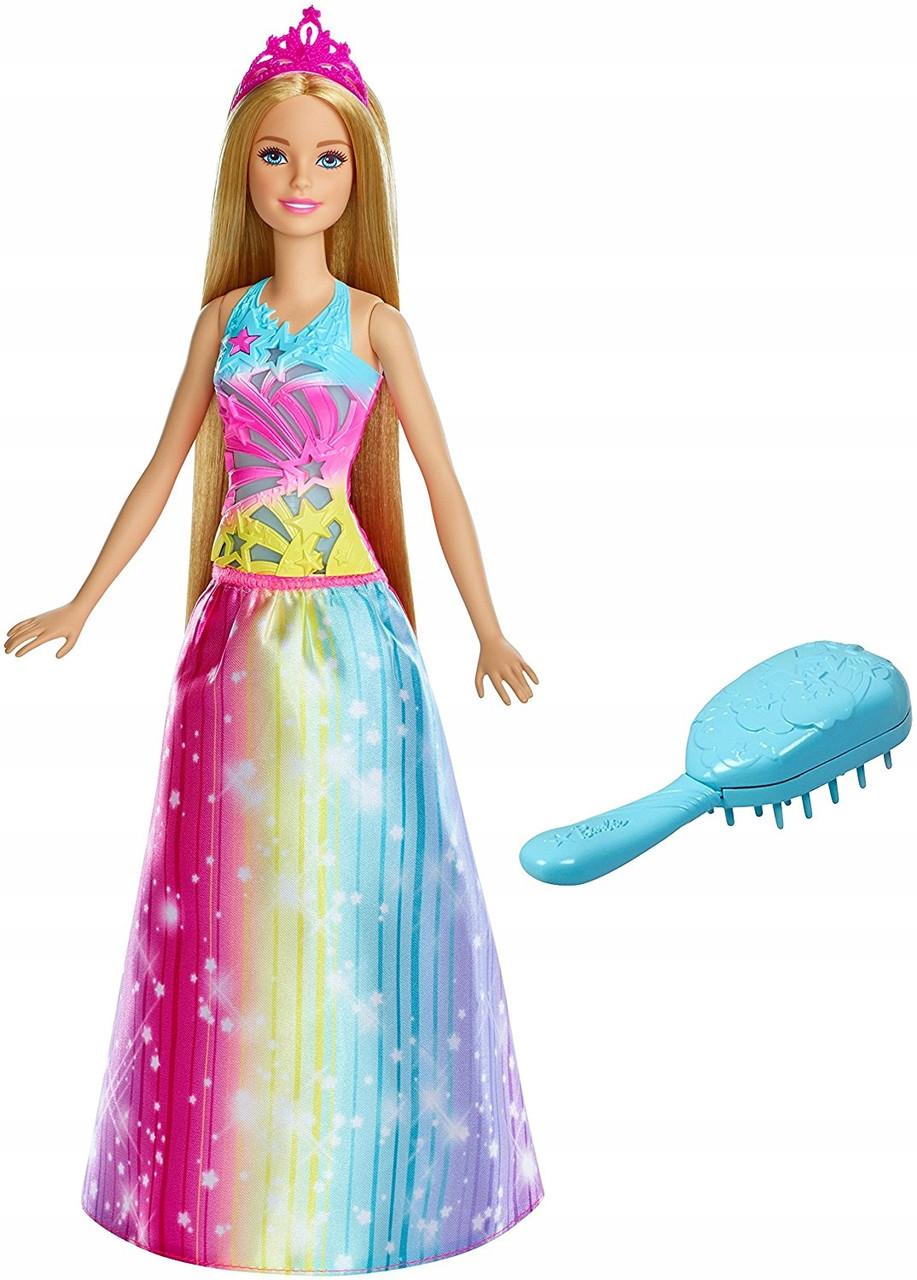 """Barbie """"Дримтопиа"""" Кукла Барби Принцесса радужной бухты (свет, звук)"""