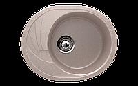 Мойка кухонная односекционная реверсивная ECO Stone 570 x 465