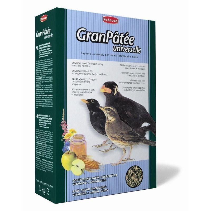 Корм с медом для насекомоядных птиц, Padovan Grandpatee Universelle - 1 кг