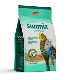 Корм Padovan Sunmix Parrocchetti для средних попугаев - 750 г