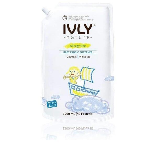 IVLY Nature Гипоаллергенное средство для стирки детской одежды Овсянка и Белый Чай 1200 мл.