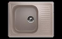 Мойка кухонная односекционная реверсивная ECO Stone 640 x 490