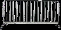 Передвижное ограждение из трубы 25х1