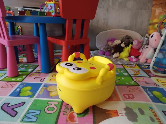 Детский горшок Pituso Лягушонок желтый