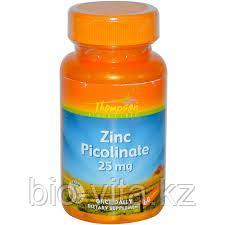 Цинк (пиколинат) 25 мг. 60 Thompson