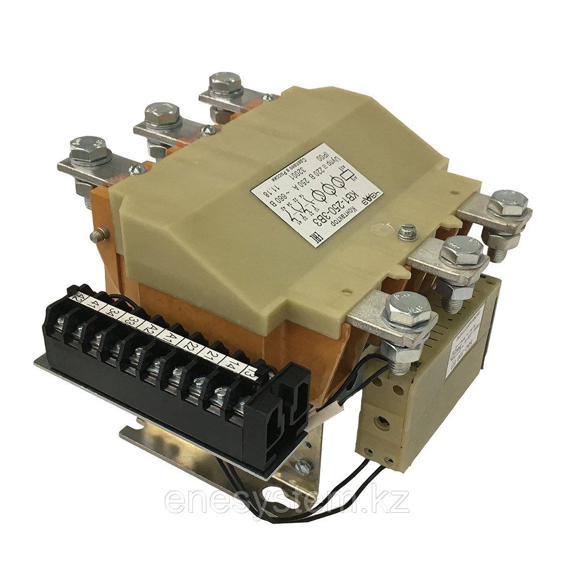 Контакторы вакуумные трехкамерные реверсивные КВ-1-160-3Р