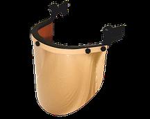 Щиток защитный лицевой (крепление на каску) Kazat