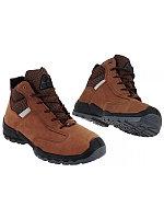 Ботинки СН(br)/АС0317 кожанные коричневые TALAN