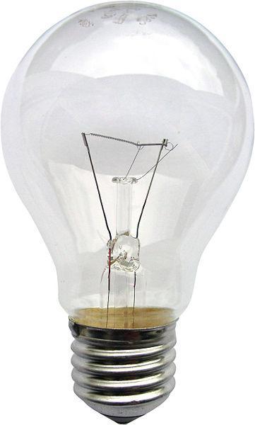 Лампа накаливания Б - 95 Вт Е27