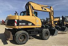Экскаватор колесный Caterpillar M316C 1м3 18 т.