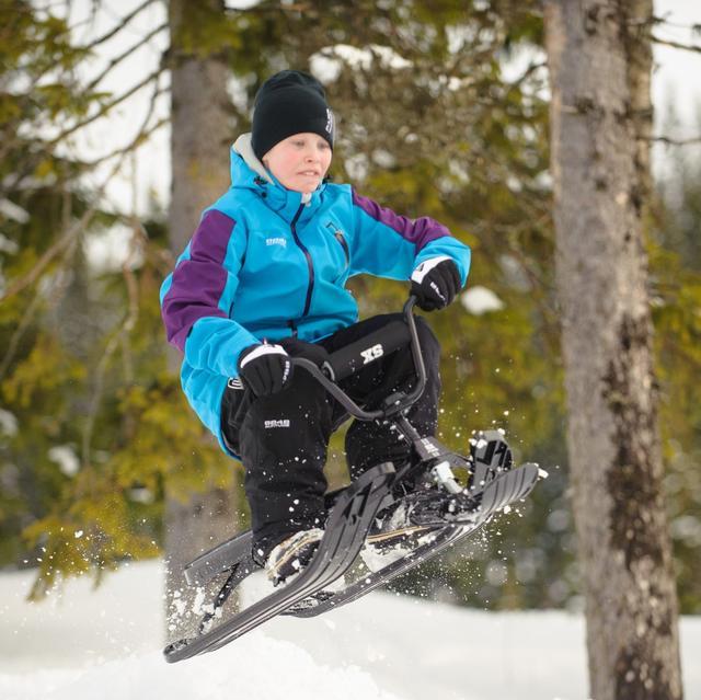 Детские снегокаты, санки-коляски, тюбинги