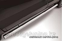 Защита порогов d76 труба Chevrolet CAPTIVA 2013-