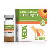 Лосьон Календула для гигиенической обработки глаз собак и кошек, VEDA - 30 мл
