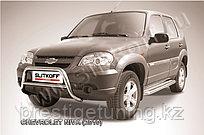 Кенгурятник низкий d57 Chevrolet Niva 2010-