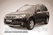 Защита переднего бампера d76 Subaru Forester 2008-12