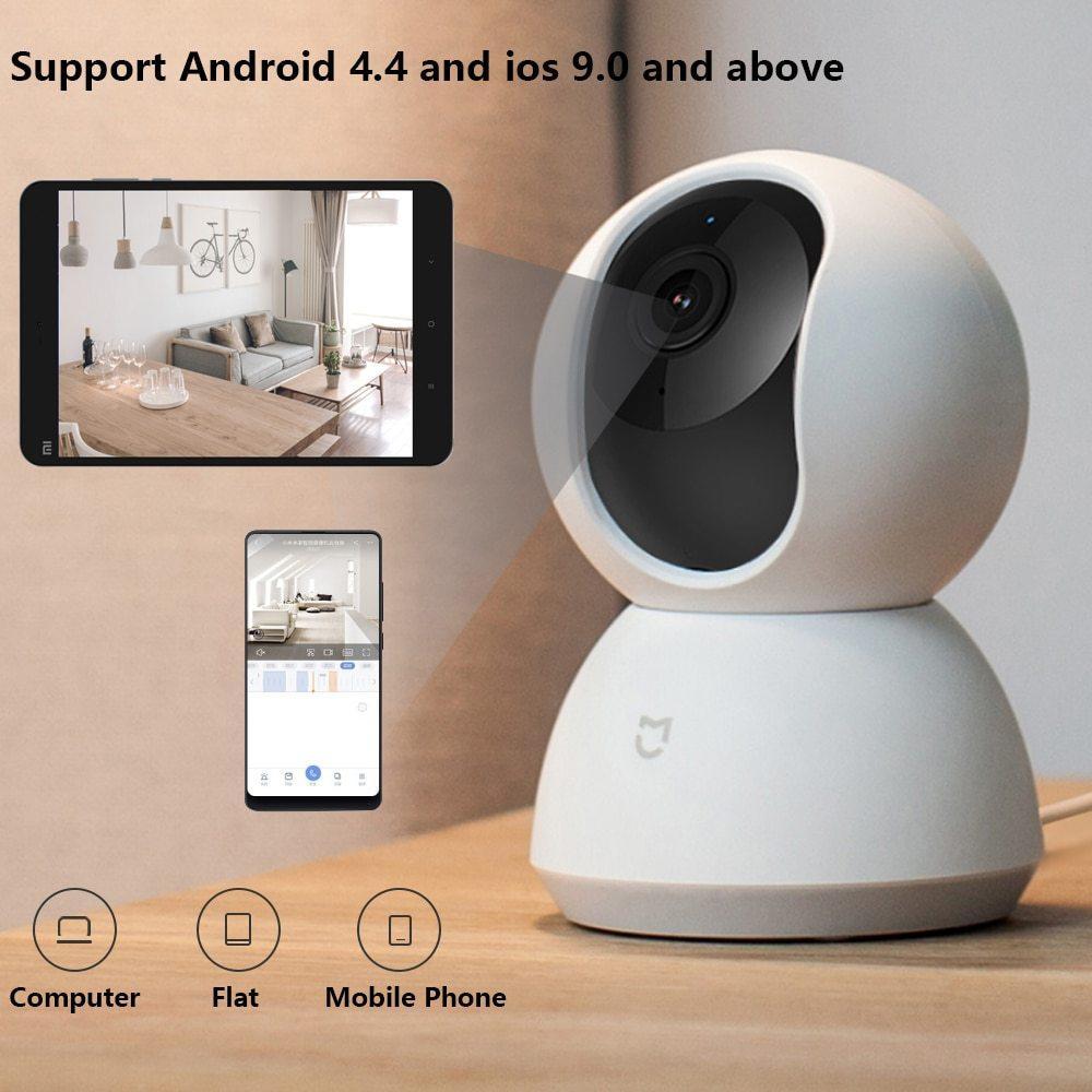 IP-камера Xiaomi Mijia Smart Camera 360 1080р (версия PTZ) обновленная версия 2020 г - фото 2