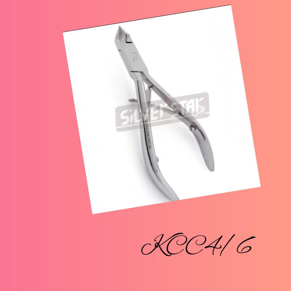 Кусачки КСС 4/6  маникюрные для кожи 6 мм