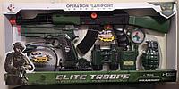 Автомат трещетка AK-998, набор военного