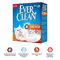 Комкующийся наполнитель Ever Clean Fast Acting, мгновенный контроль запахов - 6 л