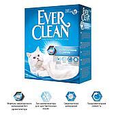 Комкующийся наполнитель Ever Clean Extra Strong Clumping Unscented, без запаха - 6 л