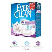 Комкующийся наполнитель Ever Clean Lavender, с ароматом лаванды - 10 л