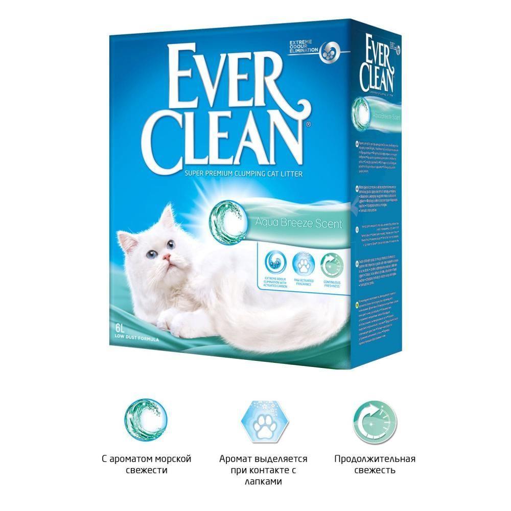 Комкующийся наполнитель Ever Clean Aqua Breeze Scent, с ароматом морской свежести - 6 л