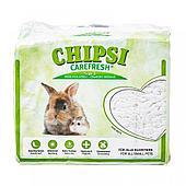 Наполнитель Chipsi CareFresh White, для птиц и мелких домашних животных, на бумажной основе - 5 л