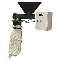 Весовой дозатор (фасовщик) сыпучих материалов с механическим зажимом шнекового типа