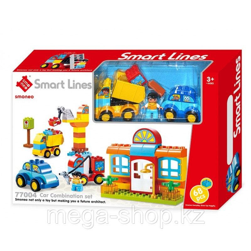 КОНСТРУКТОР Smoneo-Smart Lines duplo Стройплощадка арт.77004 с крупными деталями