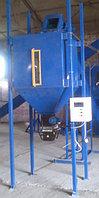 Весовой дозатор-фасовщик сыпучих продуктов с пневмозажимом шлюзовый