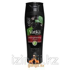 Шампунь Черная Олива Ватика (Black Olive Vatika DABUR), 400 мл