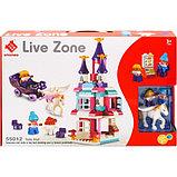 "Конструктор большые кубики Замок ""Live Zone"" 101 деталь Smoneo 55012, фото 2"